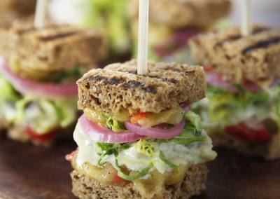Sandwich med Sennepssild